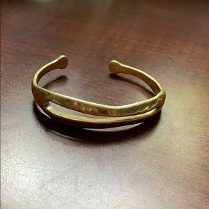 Gold Lucky brand bracelet